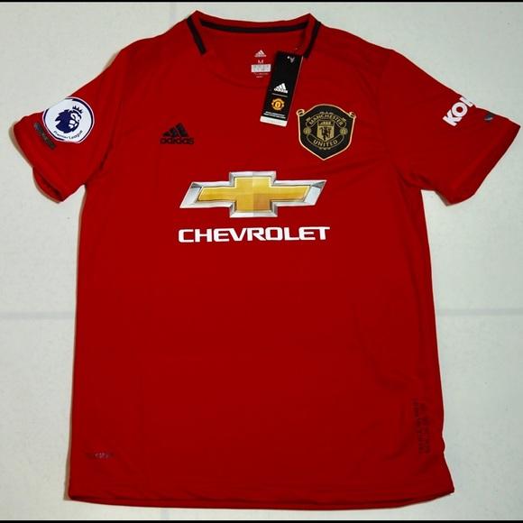 Man United Adidas 2019 20 Home Jersey Nwt